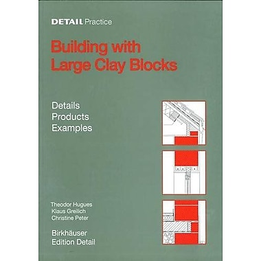 Building with Large Clay Blocks (Detail Practice), New Book (9783764371111)