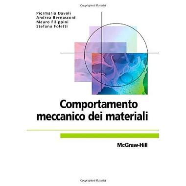 Comportamento meccanico dei materiali (Italian Edition), Used Book (9788838661501)