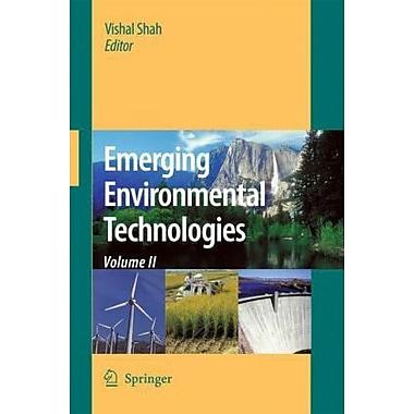 Emerging Environmental Technologies, Volume II, New Book (9789048133512)