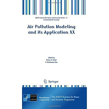 Air Pollution Modeling and its Application XX(NATO Science for Peace and Security Series C: Environmen, New Book (9789048138104)