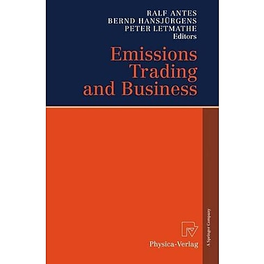 Emissions Trading and Business (v. 1), Used Book (9783790817478)