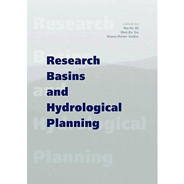 Research Basins and Hydrological Planning: Proceedings of the International Conference, Hefei/Anhui, , Used Book (9789058096111)