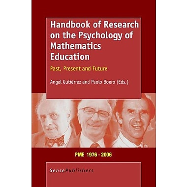 Handbook of Research on the Psychology of Mathematics Education, New Book (9789077874196)