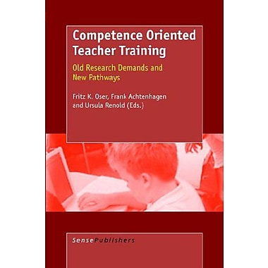 Competence Oriented Teacher Training, Used Book (9789077874684)