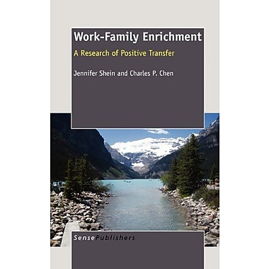 Work-Family Enrichment, Used Book (9789460913815)