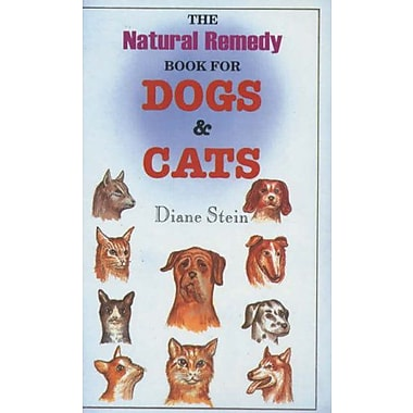 Natural Remedy Book for Dogs and Cats, New Book (9788170218500)