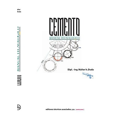 Manual Tecnológico del Cemento (Spanish Edition), New Book (9788471460950)
