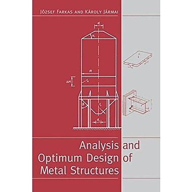 Analysis & Optimum Design Metal Struc, Used Book (9789054106692)
