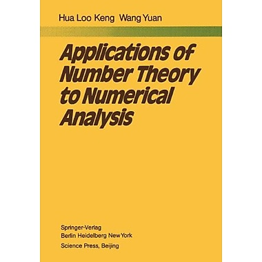 Applications of Number Theory to Numerical Analysis (9783642678318)