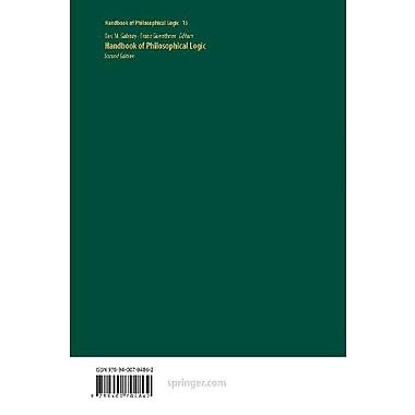 Handbook of Philosophical Logic, New Book (9789400704862)
