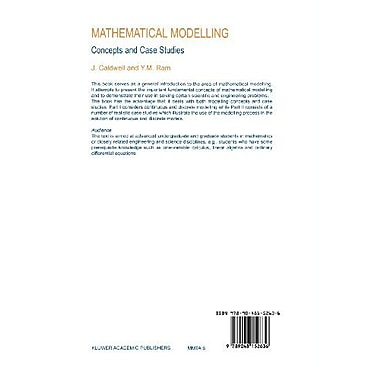 Mathematical Modelling: Concepts and Case Studies (Mathematical Modelling: Theory and Applications), New Book (9789048152636)