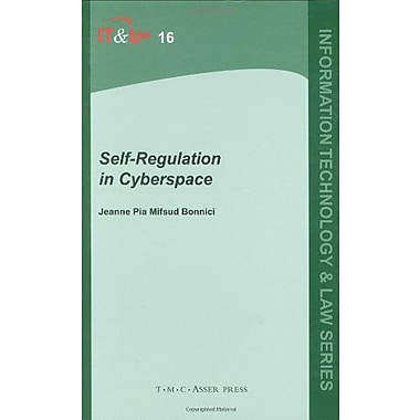Self-Regulation in Cyberspace (Information Technology and Law Series), Used Book (9789067042673)