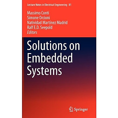 Solutions on Embedded Systems (Lecture Notes in Electrical Engineering), Used Book (9789400706378)