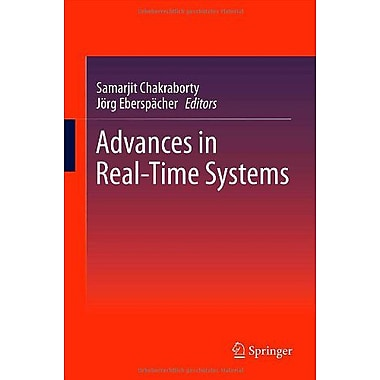 Advances in Real-Time Systems, New Book (9783642243486)