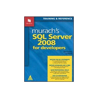 Murach's SQL Server 2008 for Developers, Used Book (9788184046533)