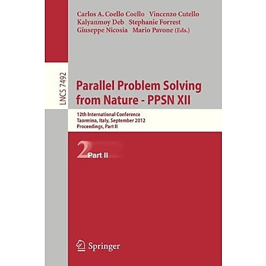 Parallel Problem Solving from Nature - PPSN XII: 12th International Conference, Taormina, Italy, Sept, Used Book (9783642329630)