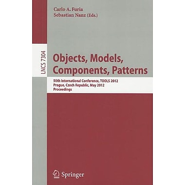 Object, Models, Components, Patterns: 50th International Conference, TOOLS Europe 2012, Prague, Czech, Used Book (9783642305603)