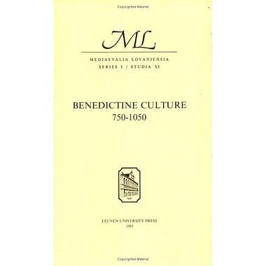 Benedictine Culture, 750 1050 (Bochum Studies in English), Used Book (9789061861447)