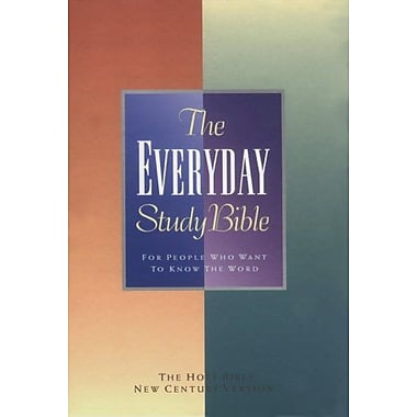 Everyday Study Bible: For People Who Want To Know The Word Everyday, New Book (9789071726187)