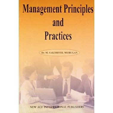Management Principles and Practices, New Book (9788122415063)