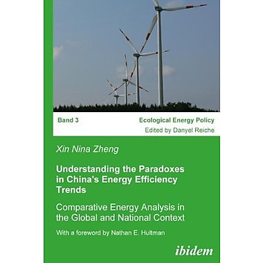 Understanding the Paradoxes in China's Energy Efficiency Trends: Comparative Energy Analysis in the G, Used Book (9783898218368)