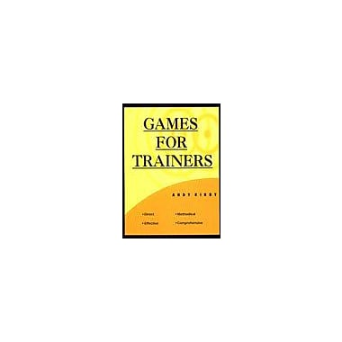 Games for Trainers (9788176930147)