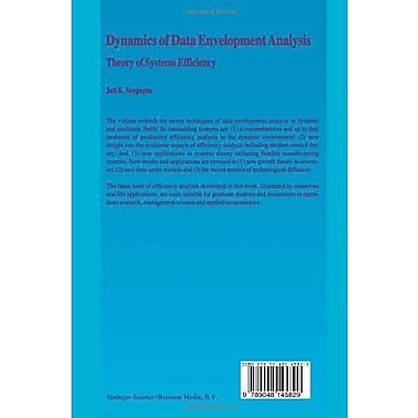 Dynamics of Data Envelopment Analysis: Theory of Systems Efficiency, Used Book (9789048145829)
