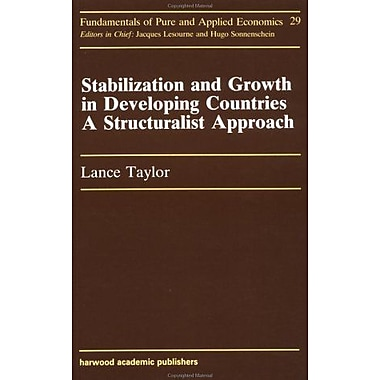 Stabilization And Growth In De (Fundamentals of Pure and Applied Economics), New Book (9783718648719)