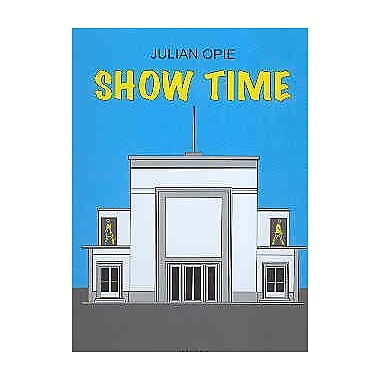 Julian Opie: Show Time- CAC MAlaga, Centro de Arte ContemporAneo de MAlaga, 15 December, 2006- 18 Mar, Used Book (9788496159495)