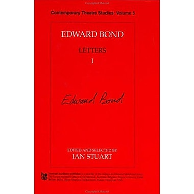Edward Bond: Letters 1 (Contemporary Theatre Studies) (Vol 1), Used Book (9783718655038)