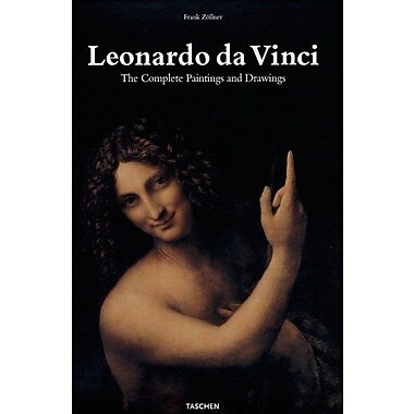 Leonardo Da Vinci: 1452-1519: The Complete Paintings and Drawings (Taschen 25th Anniversary), New Book (9783822838273)