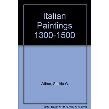 Italian Paintings 1300-1500/Italiaanse Schilderijen 1300-1500 (9789069181196)