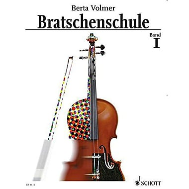 Viola Method - Volume 1: German edition (Schott), New Book (9783795751982)
