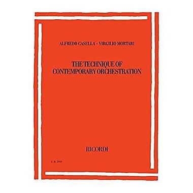 Alfredo Casella/Virgilio Mortari - The Technique of Contemporary Orchestration: Second Revised editio, Used Book (9788875927714)