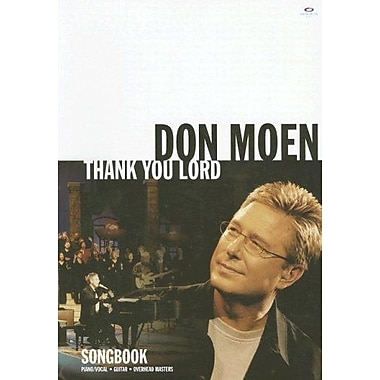 Thank You Lord Songbook (Piano/Vocal, Guitar, Overhead Masters), Used Book (9785559750736)