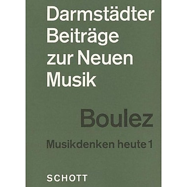 Darmstadter Beitrage zur Neuen Musik - Musikdenken heute 1: German Text (German Edition), New Book (9783795715625)