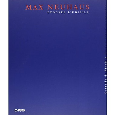 Max Neuhaus (Italian and French Edition), Used Book (9788881580460)