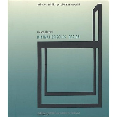Minimalist Design (German) (9783764365332)