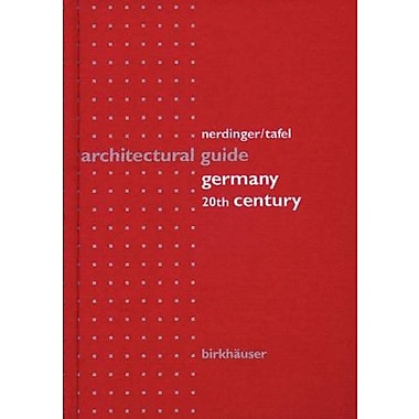 Architectural Guide Germany: 20th Century, New Book (9783764353155)