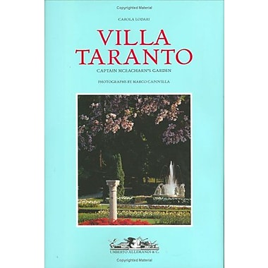 Villa Taranto: Captain McEacharn's Garden (Archives of Botanic and Garden Studies) (9788842208655)