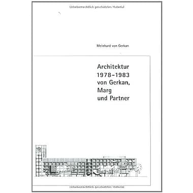 von Gerkan, Marg and Partner: Architecture 1966-1999, New Book (9783764364571)