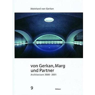 von Gerkan Marg und Partner: Architecture 2000-2001, New Book (9783764307059)