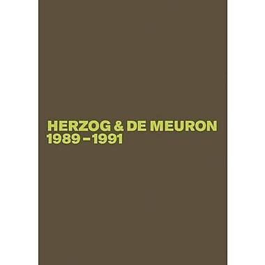 Herzog & de Meuron 1989-1991, New Book (9783764373658)