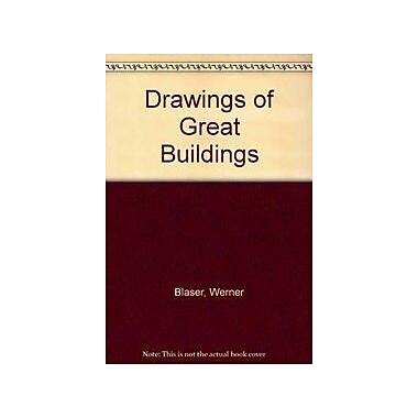 Drawings of great buildings / Zeichnungen Grosser Bauten, New Book (9783764315221)