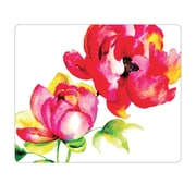 OTM Prints White Mouse Pad, Brilliant Bloom