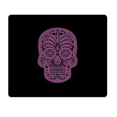 OTM Prints Black Mouse Pad, Mrs. Sugarbones