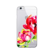OTM Essentials Floral Prints Clear Phone Case for iPhone 6 Plus, Brilliant Bloom (IP6PV1CLR-FLR-04)