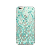 OTM Essentials Artist Prints Clear Phone Case for Use with iPhone 5/5S, Arrowhead Turquoise (IP5V1CLR-ART-07)