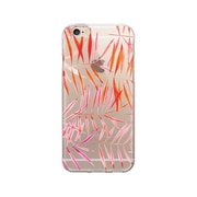 OTM Essentials Artist Prints Clear Phone Case for Use with iPhone 6/6S Plus, Bamboo Leaves Warm (OP-IP6PV1CLR-ART01-0)