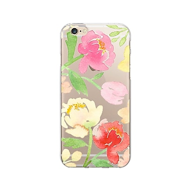 OTM Essentials Artist Prints Clear Phone Case for Use with iPhone 5/5S, Peonies Gone Bright (IP5V1CLR-ART-13)